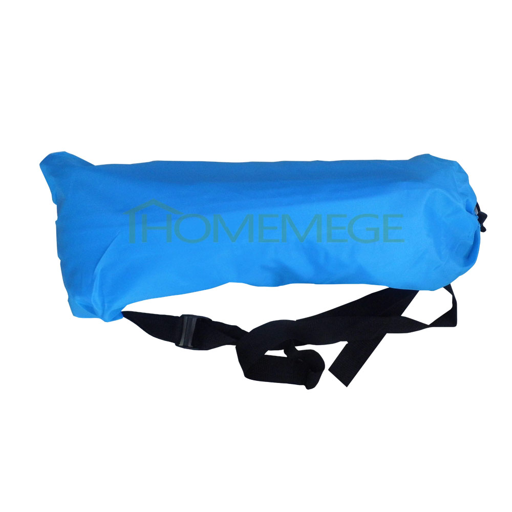 Outdoor Sleep Bag Adults Single Sofa Lounger Camping Inflatable Chair Bed 7 Color Only Need 10 Seconds Inflatable Bean Bag Sofa(China (Mainland))
