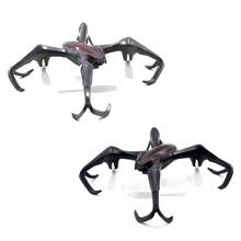 S6 Striders 2.4GHz 6Axis Gyro 3D Flip Flight LED RC Quadcopter Drone RTF Aircraft Dark Gray VS Syma X5C CX-10 CX-20 X400 X800