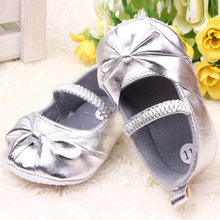 children s shoe noble bow princess Baby Shoes soft sole baby shoes Girls 3 size to