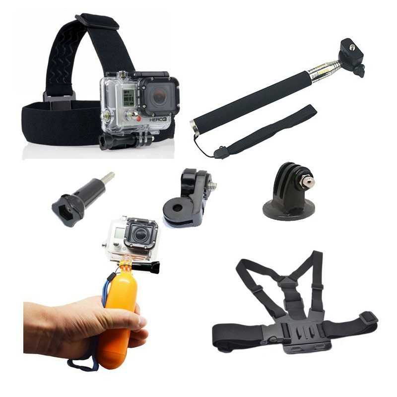 Gopro Monopod Accessories Float Monopod for Gopro Chest Belt Monopod For Gopro Hero 4 1 2 Session 3 SJ4000 Xiaomi yi Accessories