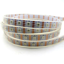 Buy 4m/roll 60LEDs/m APA102 digital led strip light 5050 smd led rgb pixel strips 5v digital tape flexible white pcb waterproof IP67 for $52.00 in AliExpress store