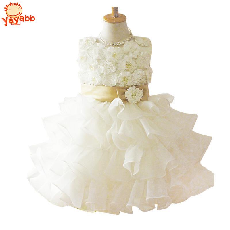 Girl Dress Chiffon kids Clothing Summer Kid Dresses For Girl White Princess Dress Party Dresses(China (Mainland))
