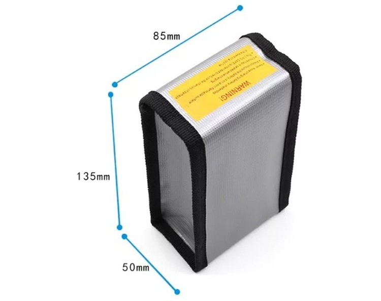 Dji phantom 3 Battery Explosion proof Li-po safe bag dji phantom 4 Professional accessories battery parts rc diy drone kit