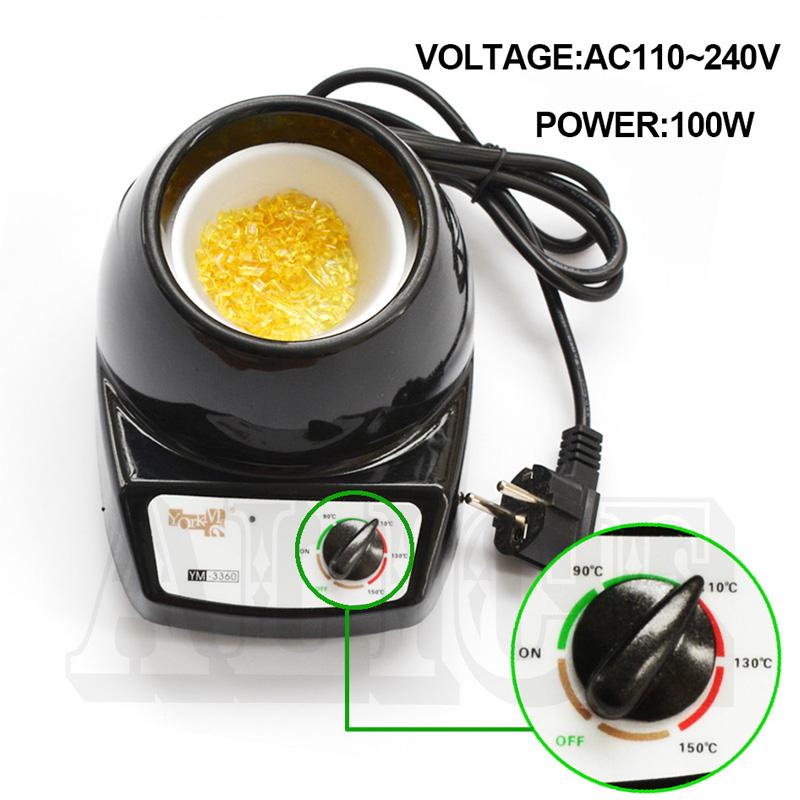 Fusion Melt Hot Pot 100W Keratin Glue Melting Pot Keratin Glue Pot Hair Extension Machine