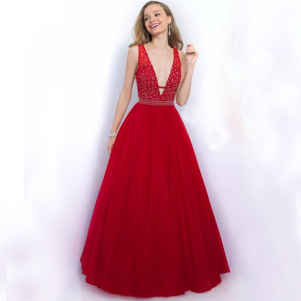 Vestido де феста лонго длинные вечерние платья для ну вечеринку бальное платье выпускного вечера 2016 hand-бисером на тюль халат де вечер формальные
