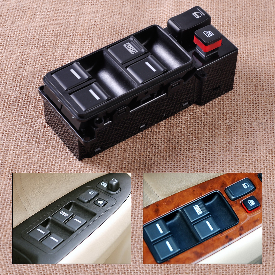New Car Electric Master Driver Power Window Switch Bezel Control 35750-SDA-H12 for Honda Accord 2003 2004 2005 2006 2007 4 Doors(China (Mainland))