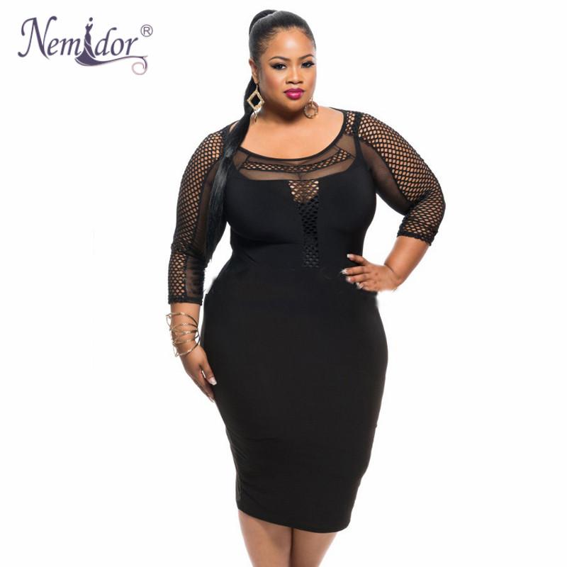 3 4 dress plus size north