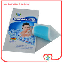 10pcs/lot High Quality Fast Acting Baby Fever Cooling Gel Patch