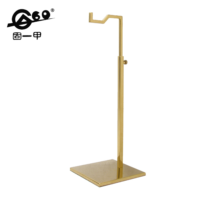 Exhibition Stand Height : Metal material high quality handbag stand height