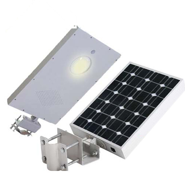 4pcs/lot 5W integrated solar street light 18V 10W monocrystal silicon solar panel all in one led courtyard lamp/gardern light <br><br>Aliexpress