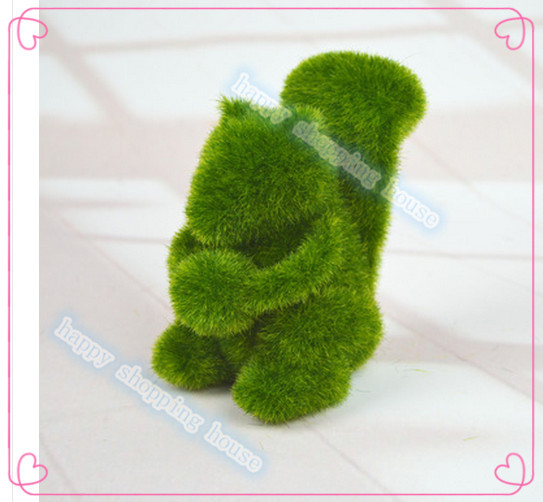 Creative gifts artificial moss stone animal stone animal home decoration 01(China (Mainland))