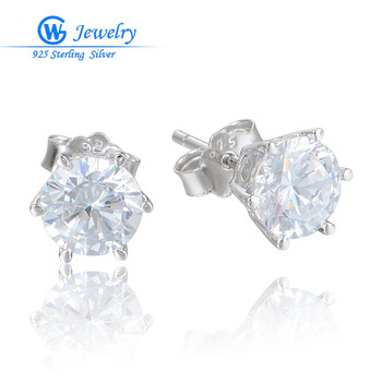 2016 new arrive pendientes plata 925 Sterling Silver earrings for women Fine Jewelry stud earrings ER1032B
