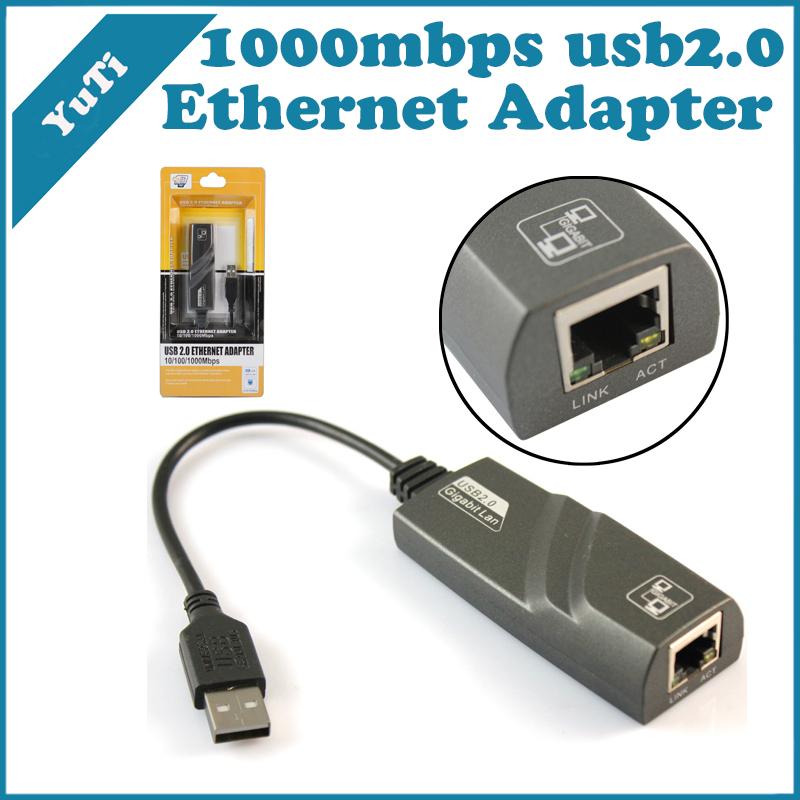 High speed USB 2.0 Gigabit Ethernet Adapter USB 2.0 Ethernet Adapter 10/100/1000M(China (Mainland))