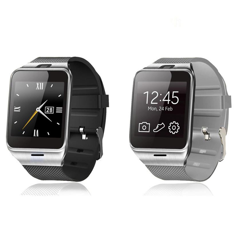 Гаджет   D00N5 New Fashion Design Aplus GV18 Bluetooth Smart Watch GSM NFC Camera Waterproof wristwatch work for Samsung  None Бытовая электроника