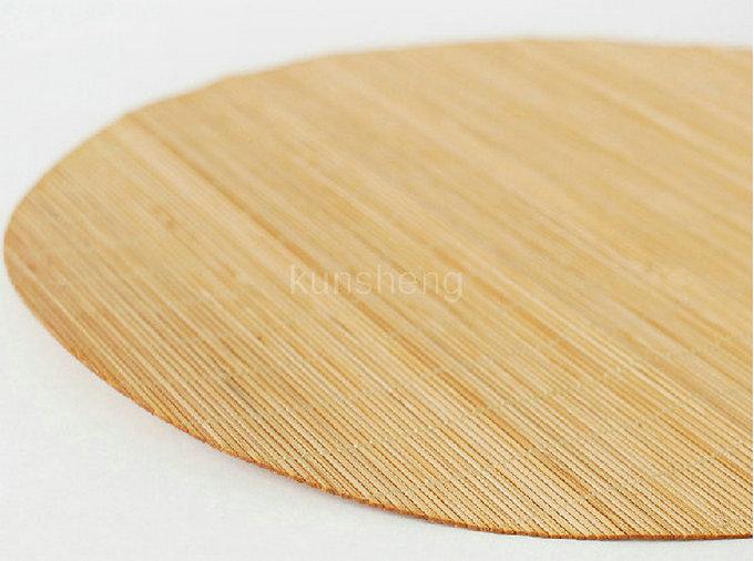 Paper Bamboo Placemats Mats Round Bamboo Placemat