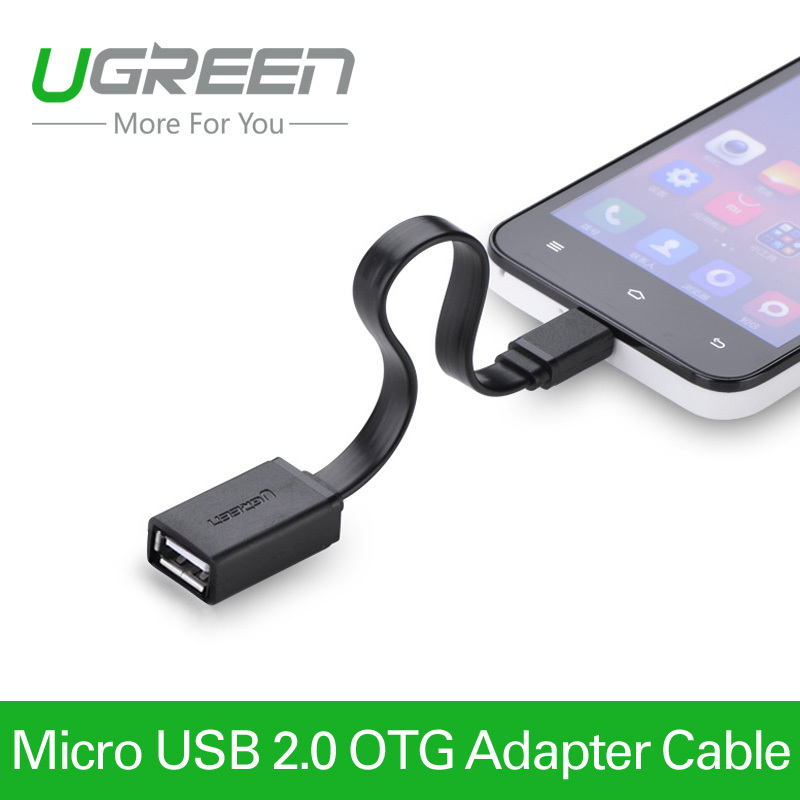 Ugreen Micro USB OTG Cable Adapter for Samsung Galaxy S3 S4 HTC LG Sony Xiaomi Android Tablet MP3 MP4(China (Mainland))
