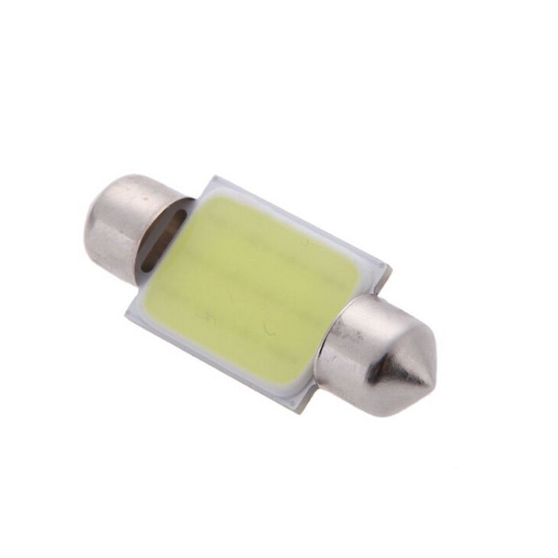 36mm White 12 COB Festoon Dome Light Car Lamp DC 12V for Car Internal