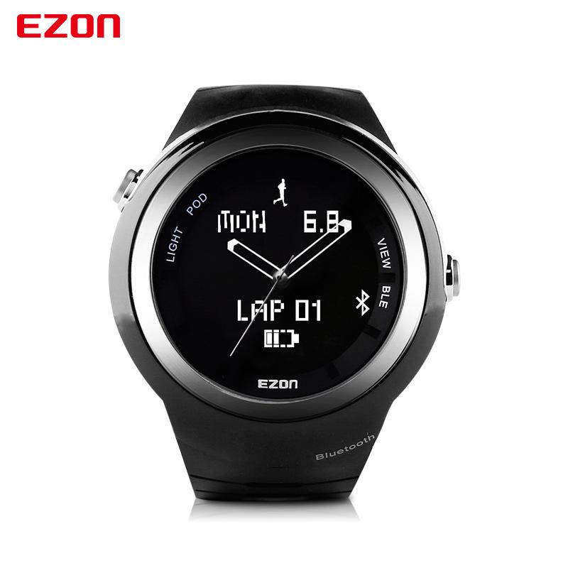 Original EZON Intelligent Watch Digital Dual Display Watch Bluetooth Smart Running Sport Watch for Mobile Phone reloj masculino(China (Mainland))