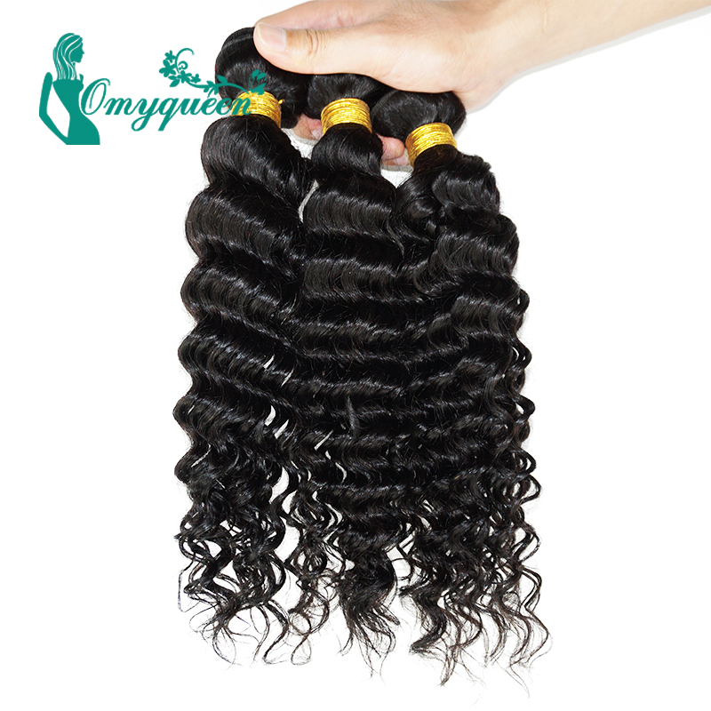 Malaysian Virgin Hair Deep Curly Malaysian Curly Hair 5A Malaysian Deep Wave Hair 3pcs Malaysian deep curly virgin hair weave