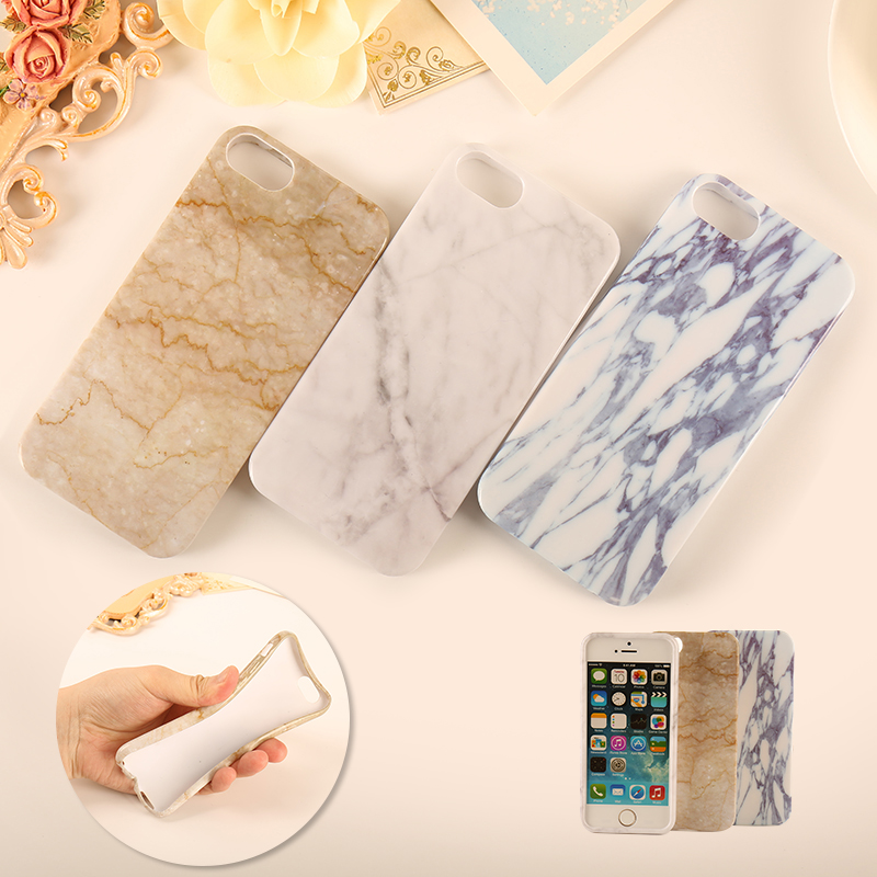 NEW Marble Phone Case TPU Soft Silicone Funda Case for iPhone6 6s 6 6S Plus 5 5S SE Back Cover Coque Ultrathin Smooth Case Capa(China (Mainland))