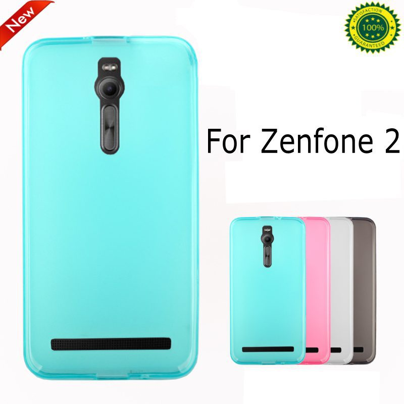 Ultra-thin soft silicone TPU gel back cover case ASUS Zenfone 2 5.5 ZE551ML screen film pen  -  E-Credible Technology Co.,Ltd. store