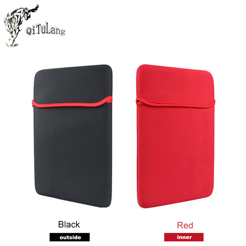 """Soft Notebook Sleeve Laptop Bag Protective Case Full Sleeve Measurement Phone Sets for 7"""" 8"""" 9"""" 10"""" 11"""" 12"""" 13"""" 14"""" 15"""" Cover(China (Mainland))"""