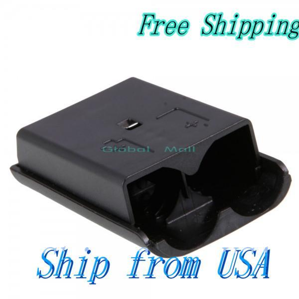 Ship From USA Controller Battery Cover Case for Xbox 360 Black V00308(China (Mainland))