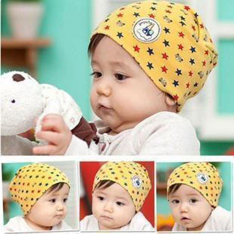 Warm Unisex Winter Autumn Newborn Crochet Baby beanie Hat Girls Boys Cap Children Star Bear Infant Cute Cotton(China (Mainland))