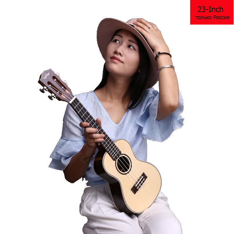 23 Inch Ukulele Small Guitar Rosewood Electric Guitar Ukulele 18 Fret Classical Flattop Musical Instrument Russia Only W01(China (Mainland))