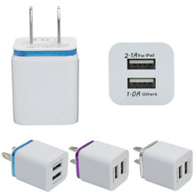 Malloom 2016 US Plug 10W Home Travel Dual Portable 2 Ports AC USB Wall Charger Iphone 5s 6s plus Samsung Galaxy S7 #MA17 - Shenzhen Technology Co., Ltd. store