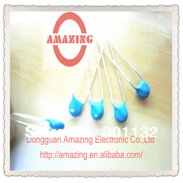 500pcs/lot high voltage high pulse frequency disc ceramic capacitor(China (Mainland))