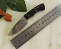 The new Ebony multi functional outdoor knife Browning mini camping small fixed blade knife