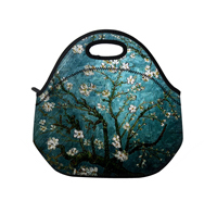 Flowers thermo thermal bag Insulated Cooler Bag thicker kids neoprene lunch bag boxes Outdoor Food Container mother baby bag ST1(China (Mainland))