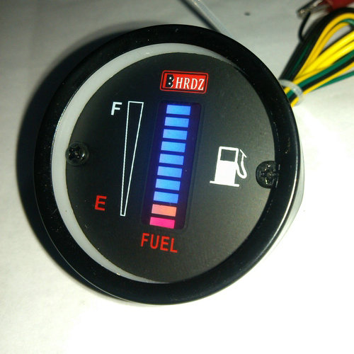 Electronic Gas Gauge : Car automotive instrument modified parts d display
