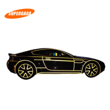 Car Sticker 2cm*5m Reflective Tape Sheeting Styling Reflect Auto Motorcycle Bike Decoration Film Decal Whole Body Safety Warning(China (Mainland))