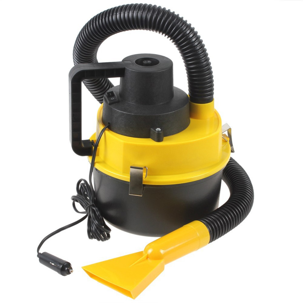 Portable Wet Dry 12V Car Vacuum Cleaner Handheld Mini Auto Car Dust Vacuum Cleaner With Brush Crevice And Nozzle Head(China (Mainland))