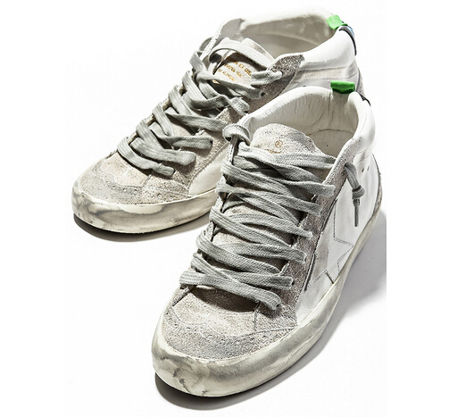 2016 Italy Fashion Brand Golden Goose Superstar High Top Genuine Leather Casual Shoes Men Women GGDB Shoes Scarpe Sportive Donna