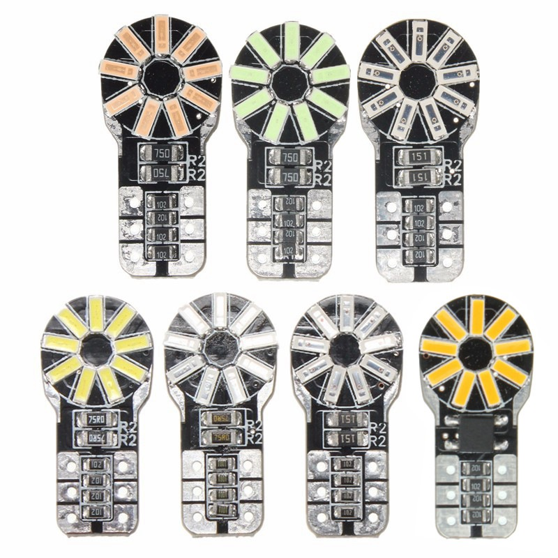 Hot Sale T10 W5W High Power 3014 18 SMD LED Canbus Car Auto Motorcycle Parking License Plate Light Lamp Bulb DC12V(China (Mainland))