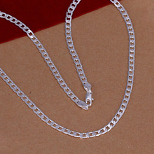 factory price top quality 925 sterling silver jewelry necklace fashion cute necklace pendant Free shipping SMTN132