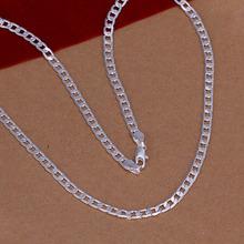 Moderní stříbrný pánský řetízek z Aliexpress