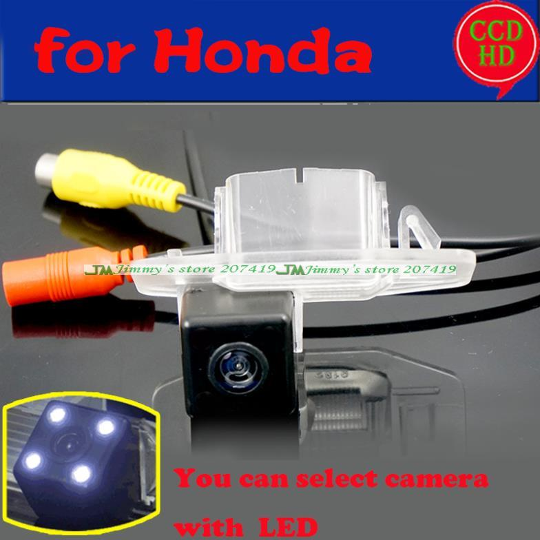 wire wireless car rear view camera for sony HD Honda CIVIC CRIDER 2014 Accord 2008 to2010 parking camera ccd LEDS night vision(China (Mainland))