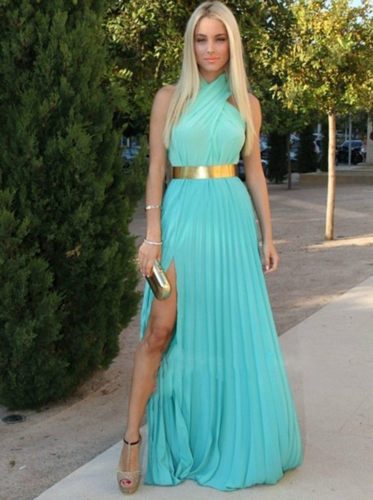 Popular Mint and Gold Prom Dresses-Buy Cheap Mint and Gold Prom ...