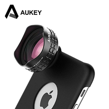 Buy AUKEY Optic Pro Lens 18MM HD Wide Angle Cell Phone Camera Lens Kit 2X Landscape iPhone 6 6s Samsung HTC &more Phones for $14.47 in AliExpress store