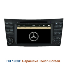 Original Car DVD Radio Player GPS for Mercedes Benz  W211 W219 W463 CLS350 CLS500 CLS55 E200 E220 E240 E270 E280
