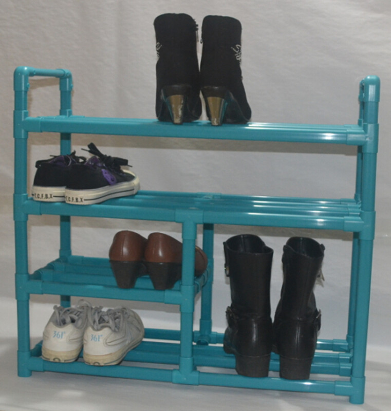 New arrival simple plastic shoe hanger waterproof high boots shoe hanger storage rack customize(China (Mainland))