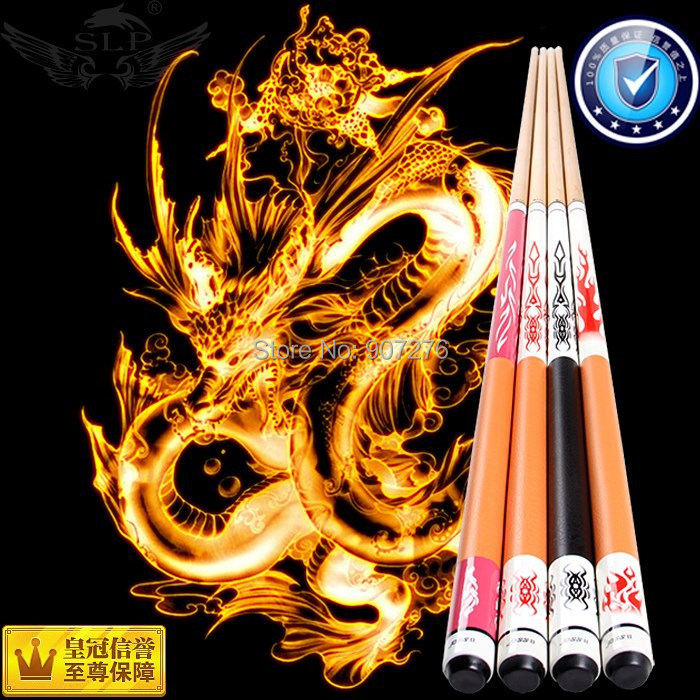 two-pc high quality but cheap price stock MAPLE Pool Billiard cue sticks(China (Mainland))