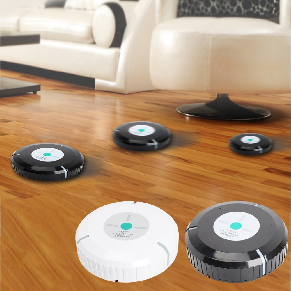 9 inch Auto Robot Cleaner Microfiber Smart Robotic Mop Automatical Dust Cleaner(China (Mainland))