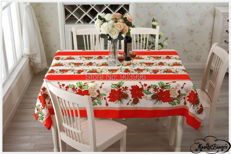 Free shipping-BAS-005-European polyester plain Christmas coffee shop restaurant tablecloth(China (Mainland))