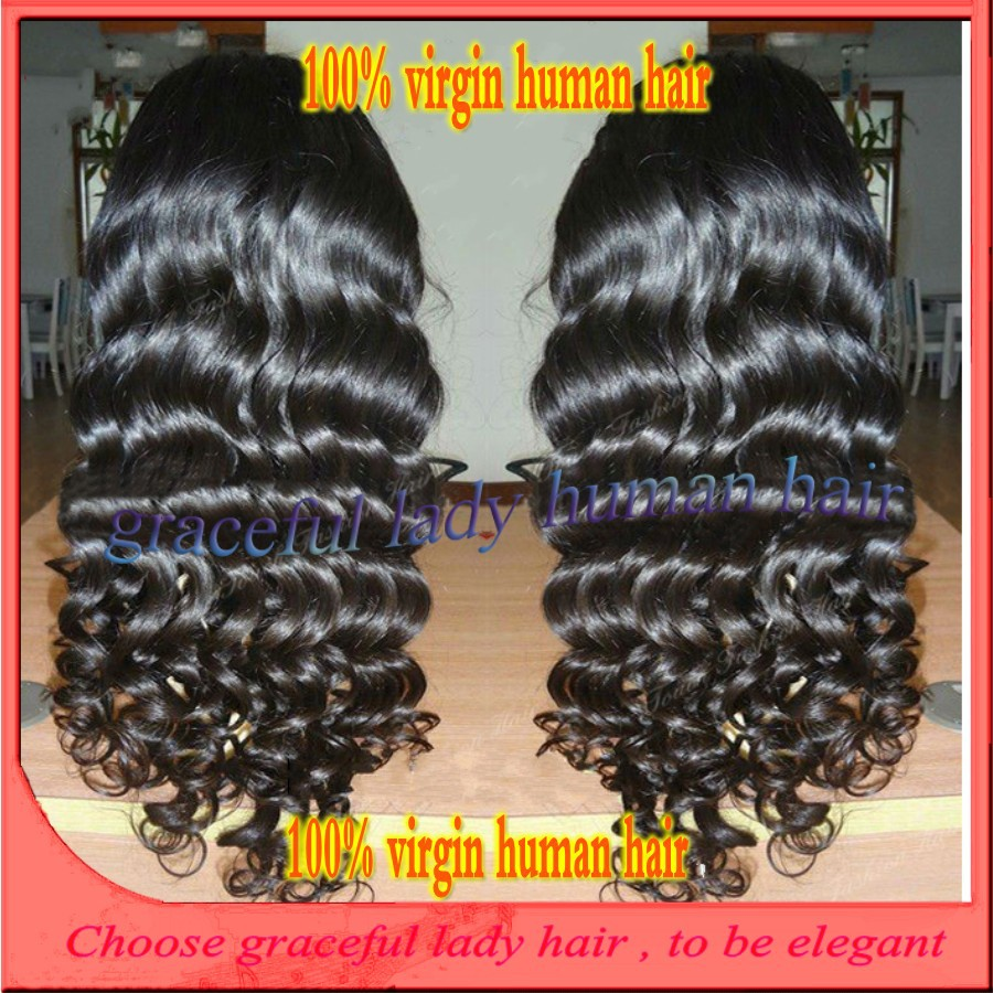 #1 26 180 density brazilian hair deep wave silk top glueless full lace human hair wigs virgin hair for black women no shedding<br><br>Aliexpress