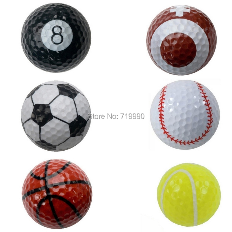 Sports golf balls double ball for golf best gift for friend(China (Mainland))